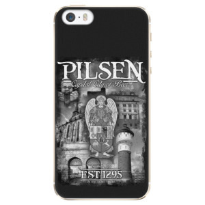 Plastové pouzdro iSaprio - Pilsen Beer City na mobil Apple iPhone 5 / 5S / SE