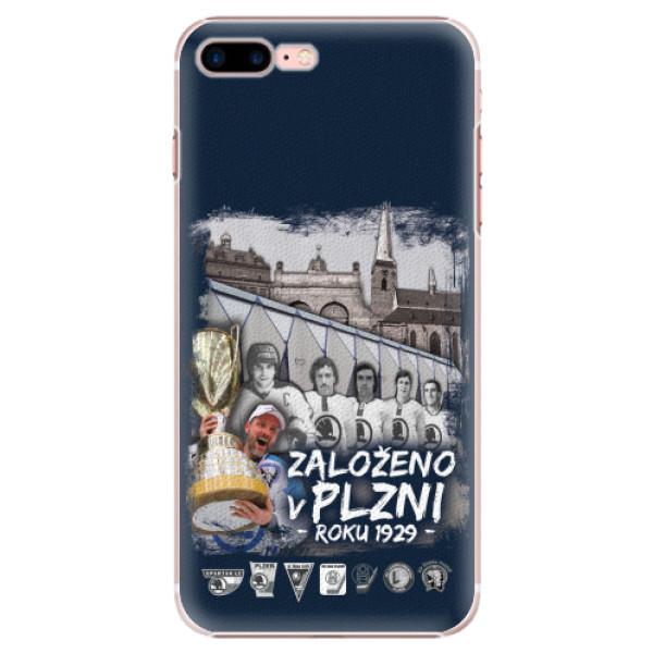 Plastový kryt iSaprio - Založeno v Plzni roku 1929 pro mobil Apple iPhone 7 Plus
