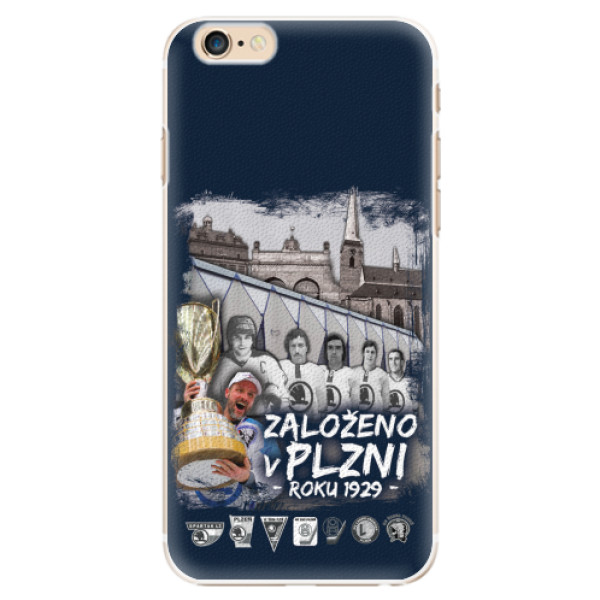 Plastový kryt iSaprio - Založeno v Plzni roku 1929 pro mobil Apple iPhone 6 / 6S