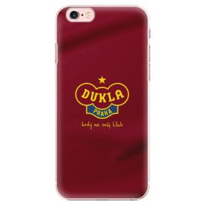 Plastové pouzdro iSaprio - FK Dukla Praha na mobil Apple iPhone 6 Plus / 6S Plus