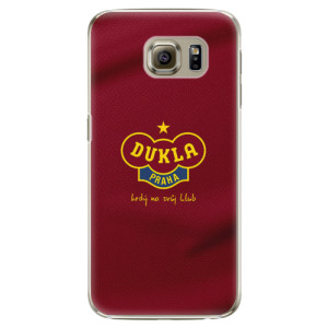Plastové pouzdro iSaprio - FK Dukla Praha na mobil Samsung Galaxy S6