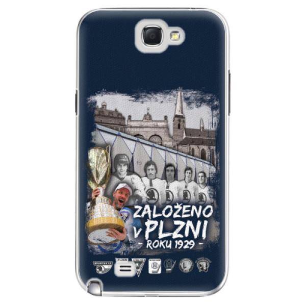 Plastový kryt iSaprio - Založeno v Plzni roku 1929 pro mobil Samsung Galaxy Note 2