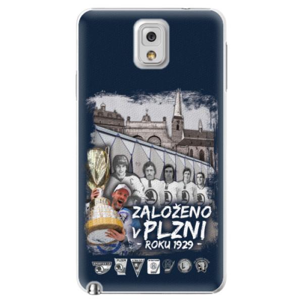 Plastový kryt iSaprio - Založeno v Plzni roku 1929 pro mobil Samsung Galaxy Note 3