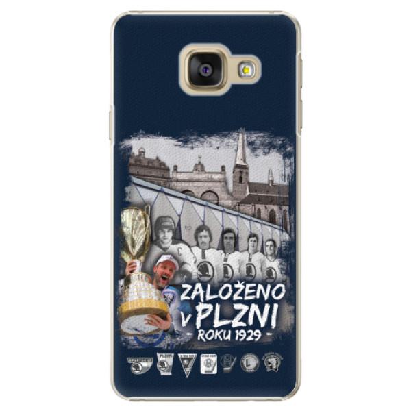 Plastový kryt iSaprio - Založeno v Plzni roku 1929 pro mobil Samsung Galaxy A3 2016