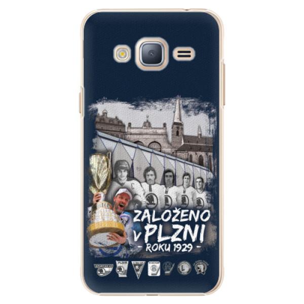 Plastový kryt iSaprio - Založeno v Plzni roku 1929 pro mobil Samsung Galaxy J3 2016