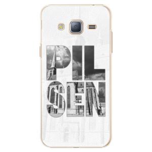Plastové pouzdro iSaprio - Pilsen Bartoloměj na mobil Samsung Galaxy J3 2016