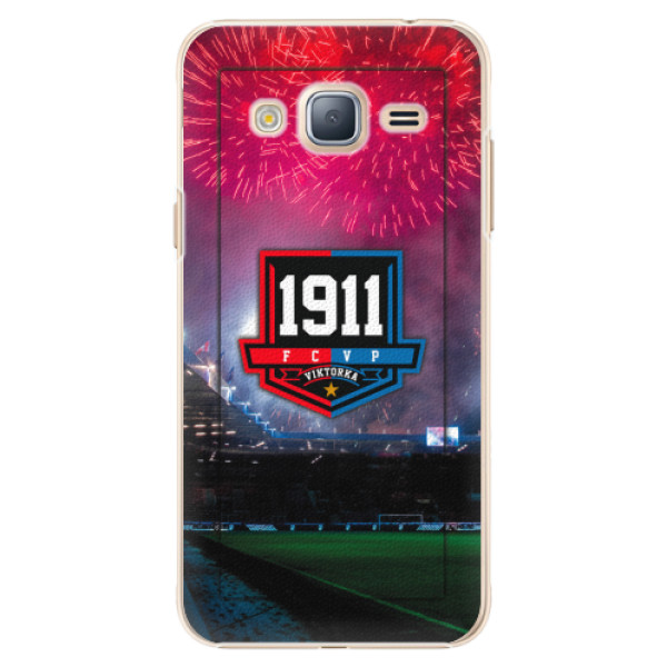Plastový kryt iSaprio - FCVP 1911 Ohňostroj pro mobil Samsung Galaxy J3 2016