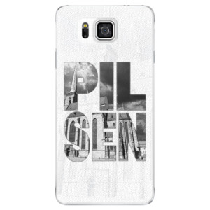 Plastové pouzdro iSaprio - Pilsen Bartoloměj na mobil Samsung Galaxy Alpha
