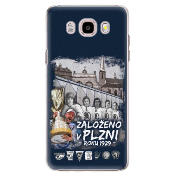 Plastový kryt iSaprio - Založeno v Plzni roku 1929 pro mobil Samsung Galaxy J5 2016