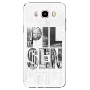 Plastové pouzdro iSaprio - Pilsen Bartoloměj na mobil Samsung Galaxy J5 2016