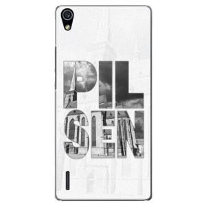 Plastové pouzdro iSaprio - Pilsen Bartoloměj na mobil Huawei P7