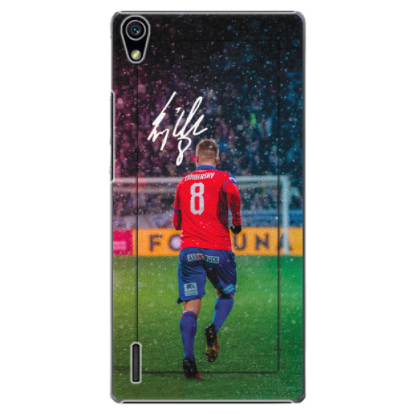 Plastový kryt iSaprio - Limba pro mobil Huawei P7