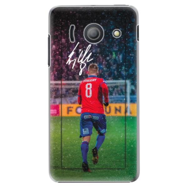 Plastový kryt iSaprio - Limba pro mobil Huawei Y300
