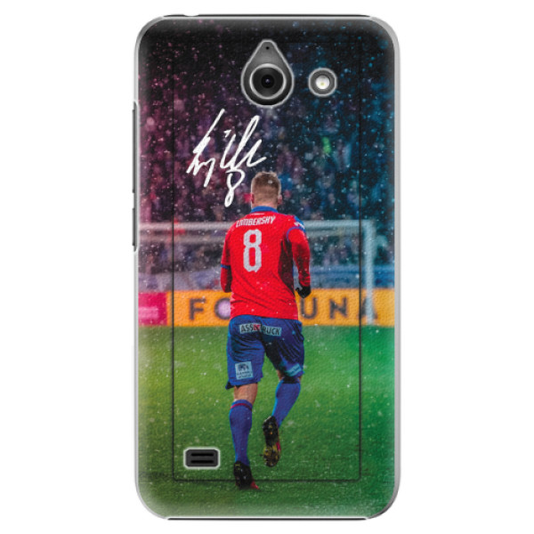 Plastový kryt iSaprio - Limba pro mobil Huawei Y550