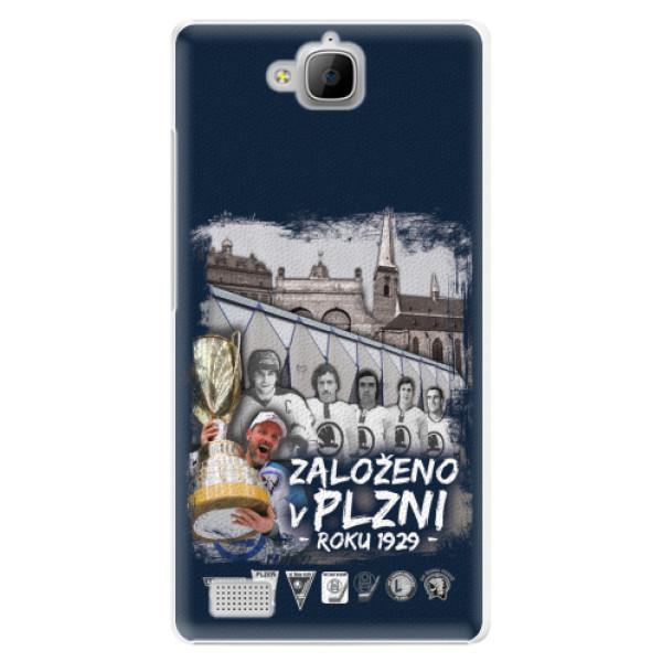 Plastový kryt iSaprio - Založeno v Plzni roku 1929 pro mobil Honor 3C