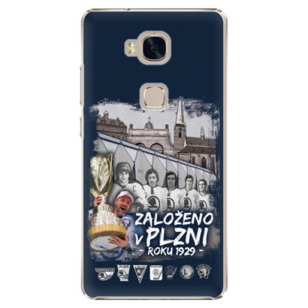 Plastový kryt iSaprio - Založeno v Plzni roku 1929 pro mobil Honor 5X