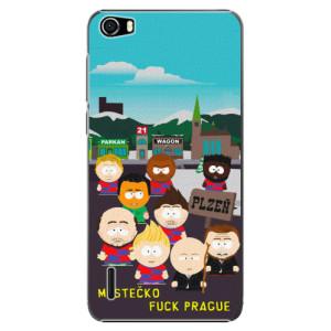Plastové pouzdro iSaprio - Městečko Fuck Prague na mobil Honor 6