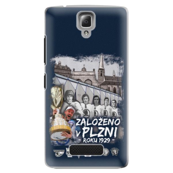 Plastový kryt iSaprio - Založeno v Plzni roku 1929 pro mobil Lenovo A2010