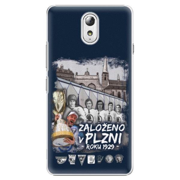 Plastový kryt iSaprio - Založeno v Plzni roku 1929 pro mobil Lenovo P1m