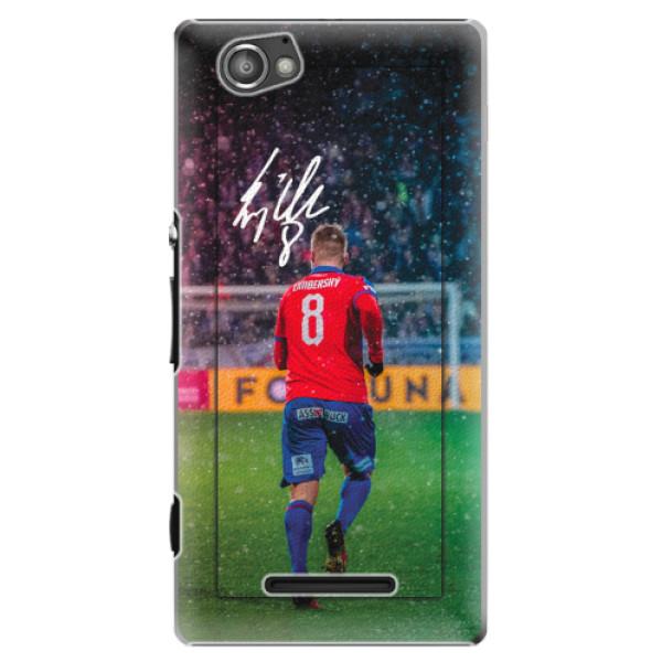 Plastový kryt iSaprio - Limba pro mobil Sony Xperia M