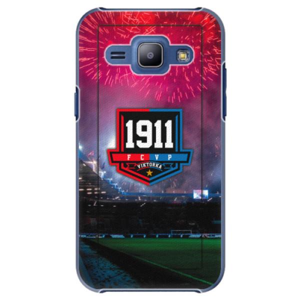 Plastový kryt iSaprio - FCVP 1911 Ohňostroj pro mobil Samsung Galaxy J1