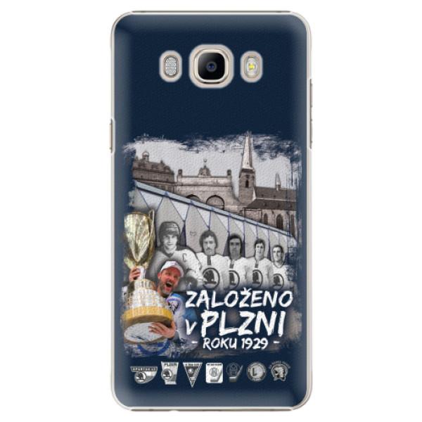 Plastový kryt iSaprio - Založeno v Plzni roku 1929 pro mobil Samsung Galaxy J7 2016
