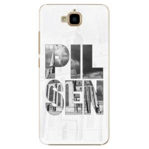 Plastové pouzdro iSaprio - Pilsen Bartoloměj na mobil Huawei Y6 Pro
