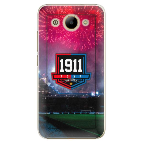 Plastový kryt iSaprio - FCVP 1911 Ohňostroj pro mobil Huawei Y3 2017