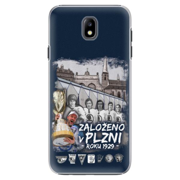 Plastový kryt iSaprio - Založeno v Plzni roku 1929 pro mobil Samsung Galaxy J7 2017