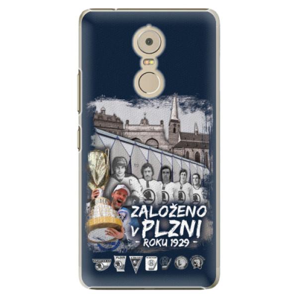 Plastový kryt iSaprio - Založeno v Plzni roku 1929 pro mobil Lenovo K6 Note