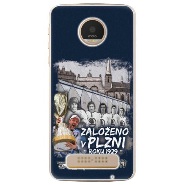 Plastový kryt iSaprio - Založeno v Plzni roku 1929 pro mobil Lenovo Moto Z Play