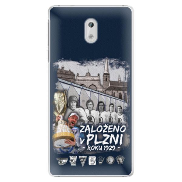 Plastový kryt iSaprio - Založeno v Plzni roku 1929 pro mobil Nokia 3