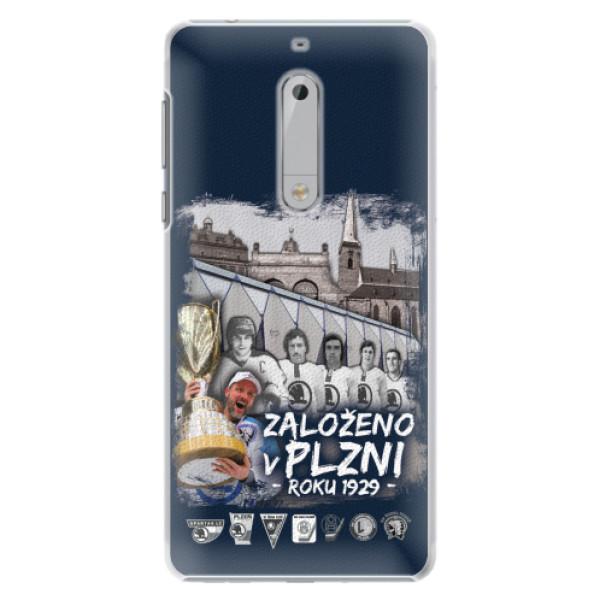Plastový kryt iSaprio - Založeno v Plzni roku 1929 pro mobil Nokia 5
