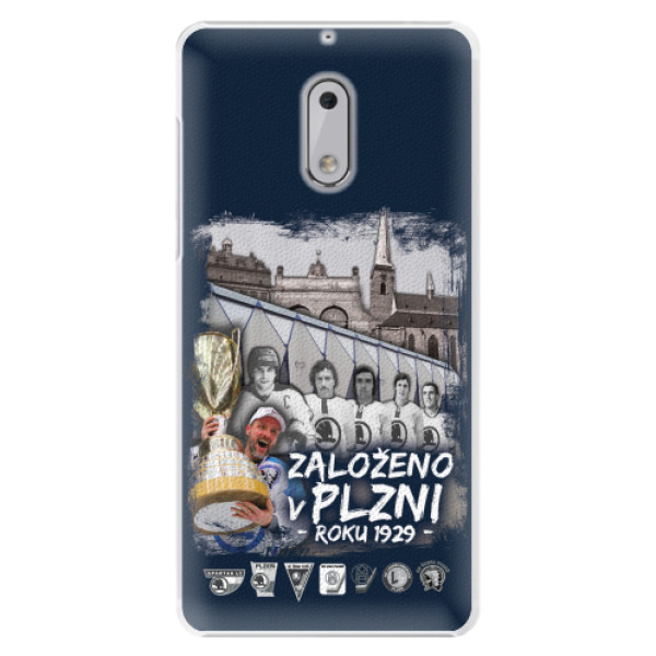 Plastový kryt iSaprio - Založeno v Plzni roku 1929 pro mobil Nokia 6
