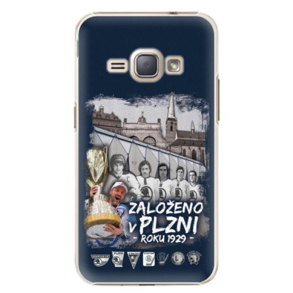Plastový kryt iSaprio - Založeno v Plzni roku 1929 pro mobil Samsung Galaxy J1 2016