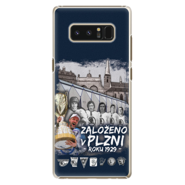 Plastový kryt iSaprio - Založeno v Plzni roku 1929 pro mobil Samsung Galaxy Note 8