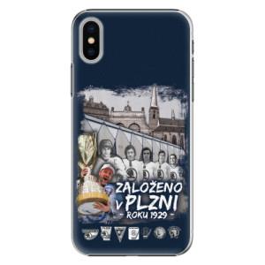 Plastové pouzdro iSaprio - Založeno v Plzni roku 1929 na mobil Apple iPhone X