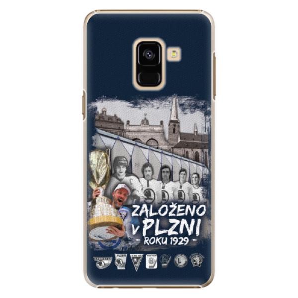 Plastový kryt iSaprio - Založeno v Plzni roku 1929 pro mobil Samsung Galaxy A8 2018