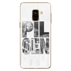 Plastové pouzdro iSaprio - Pilsen Bartoloměj na mobil Samsung Galaxy A8 2018