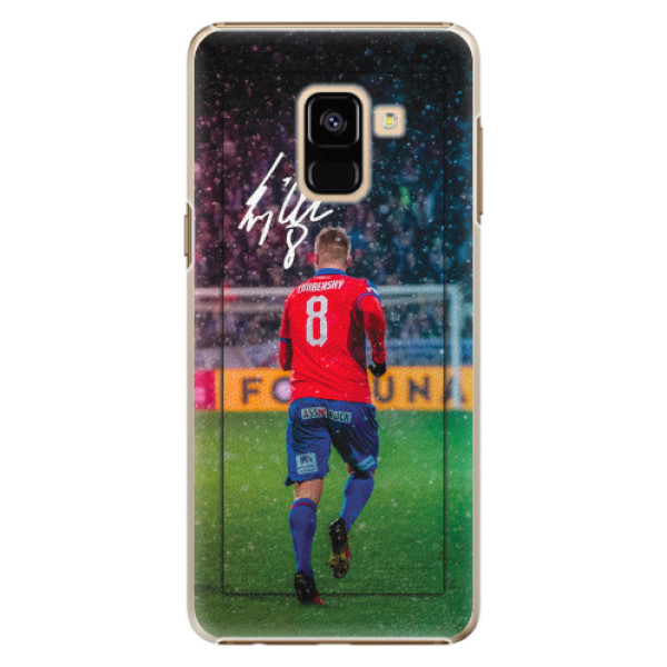 Plastový kryt iSaprio - Limba pro mobil Samsung Galaxy A8 2018