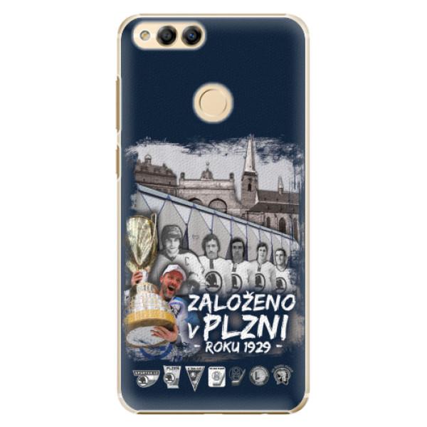 Plastový kryt iSaprio - Založeno v Plzni roku 1929 pro mobil Honor 7X
