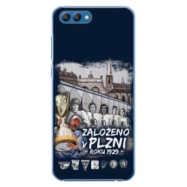 Plastový kryt iSaprio - Založeno v Plzni roku 1929 pro mobil Honor View 10