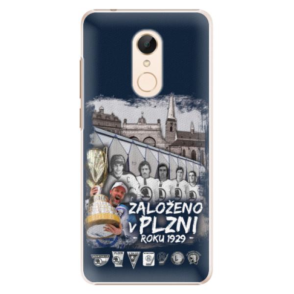 Plastový kryt iSaprio - Založeno v Plzni roku 1929 pro mobil Xiaomi Redmi 5