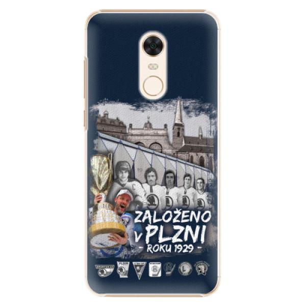 Plastový kryt iSaprio - Založeno v Plzni roku 1929 pro mobil Xiaomi Redmi 5 Plus