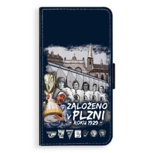 Flipové pouzdro iSaprio - Založeno v Plzni roku 1929 na mobil Apple iPhone X