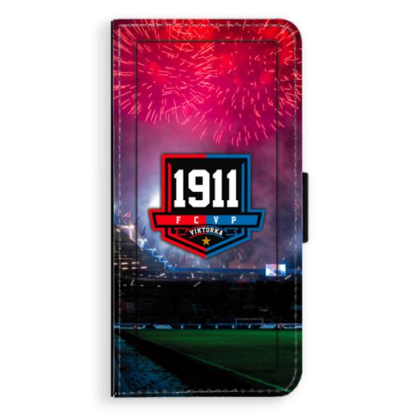 Flipový kryt iSaprio - FCVP 1911 Ohňostroj pro mobil Huawei P8