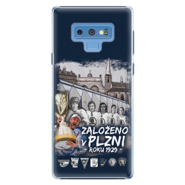 Plastový kryt iSaprio - Založeno v Plzni roku 1929 pro mobil Samsung Galaxy Note 9