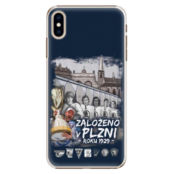 Plastový kryt iSaprio - Založeno v Plzni roku 1929 pro mobil Apple iPhone XS Max
