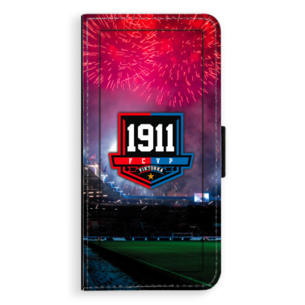Flipový kryt iSaprio - FCVP 1911 Ohňostroj pro mobil Huawei P20