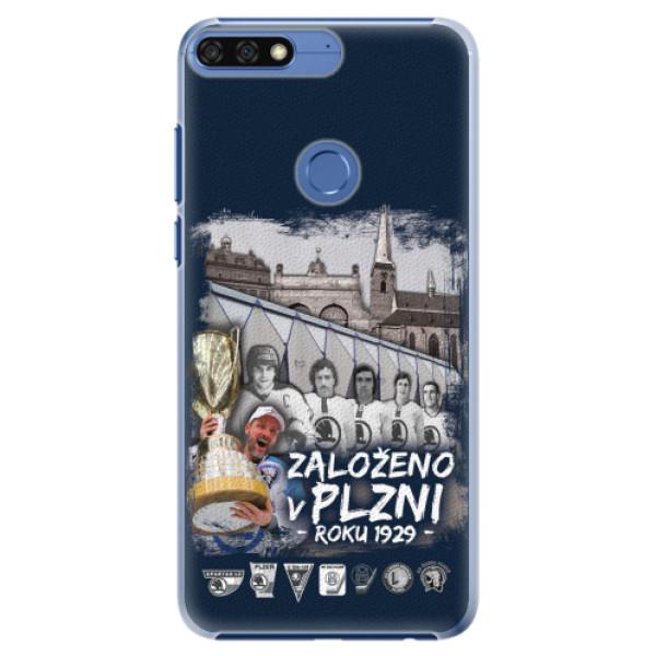 Plastový kryt iSaprio - Založeno v Plzni roku 1929 pro mobil Honor 7C